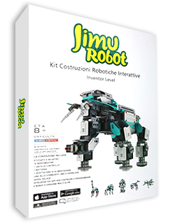 Jimu Robot - Inventor level