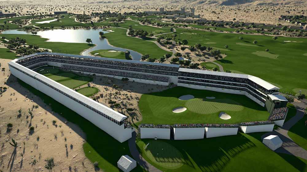 PGA TOUR 2K21 - Scottsdale Aerial
