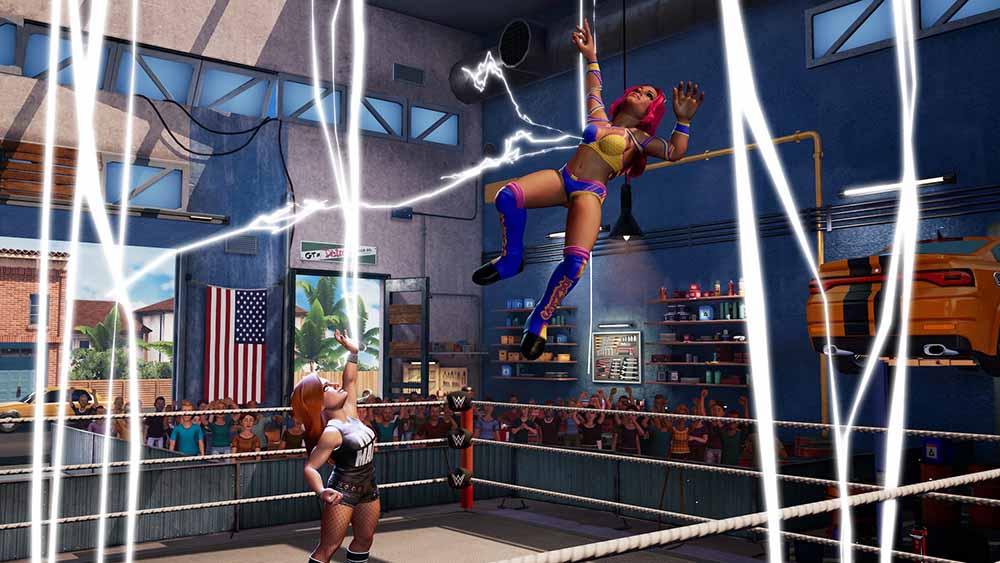 WWE 2K BG Sasha Banks vs Becky Lynch